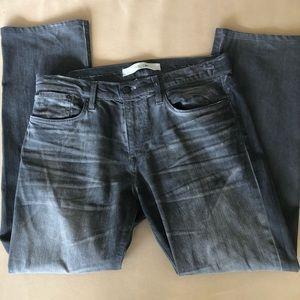 Joe's jeans gray 34